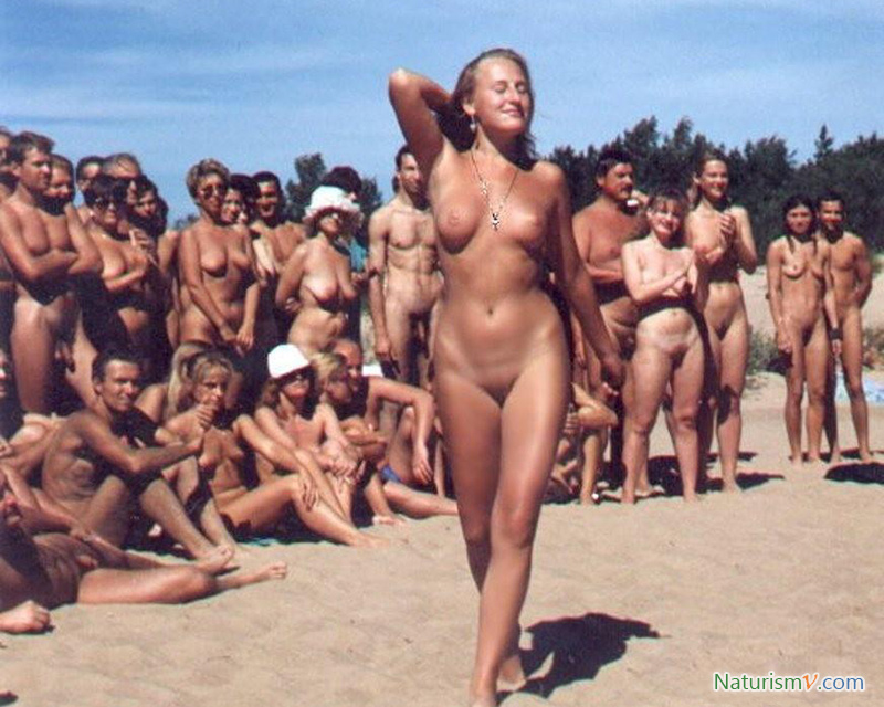 Конкурс Красоты На Нудистском Пляже - Нудизм И Натуризм