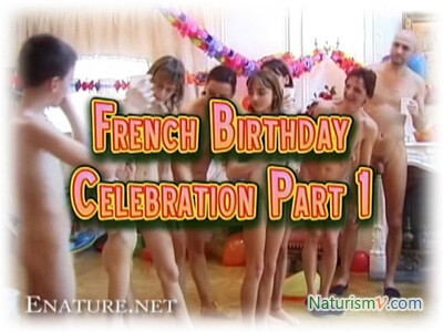 French Birthday. Part 1 / French Birthday Party Part 1 (Enature.net. RussianBare.com) - Naturism and Nudism: Video, Photo, Humor. Watch Online, Free Download. NaturismV.com [1: 18: 25x240p]->->