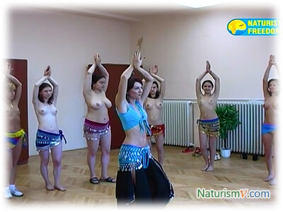 Танец Живота / Belly-dancing (Naturist Freedom)