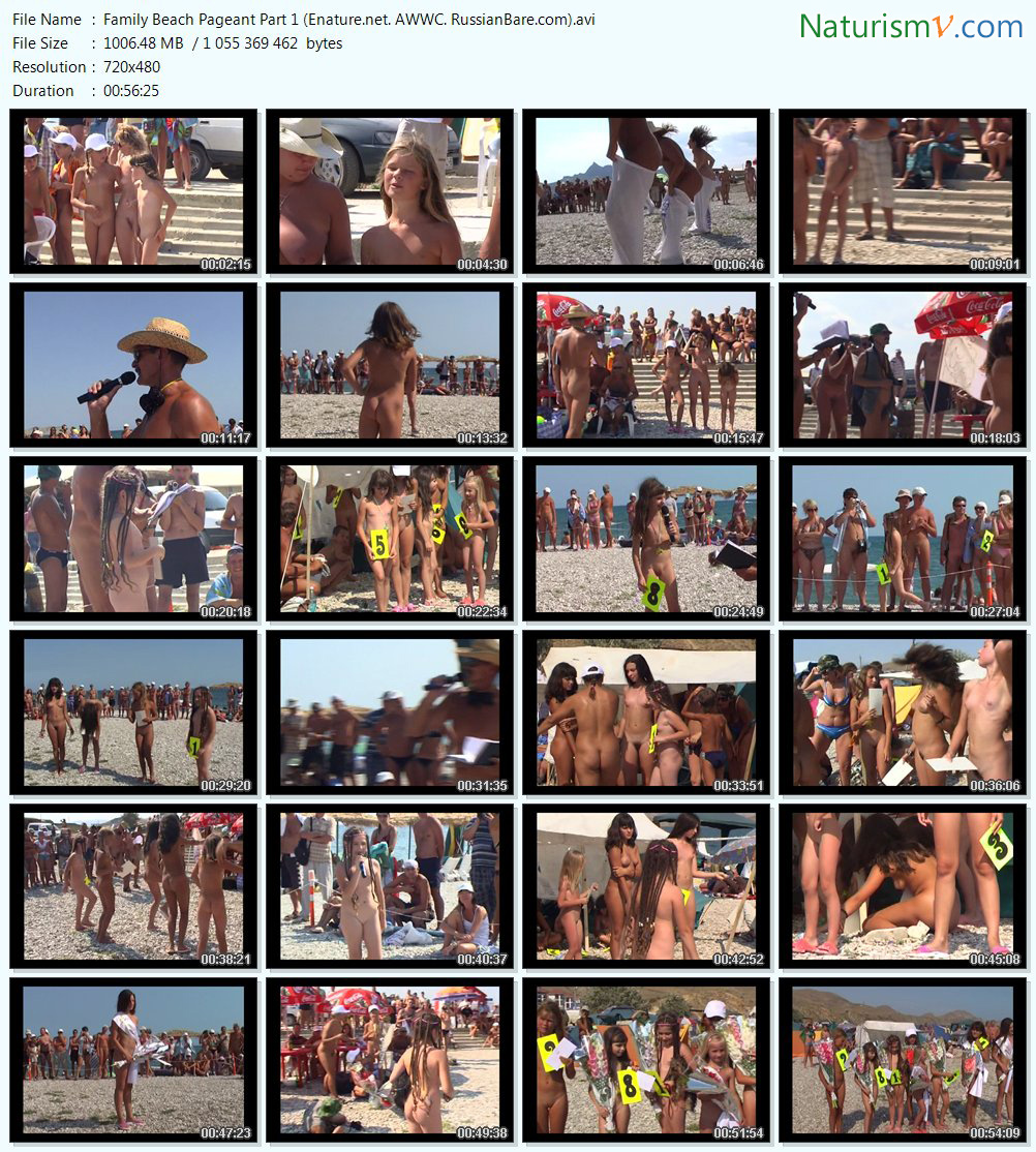 RussianBare.com Family beach pageant