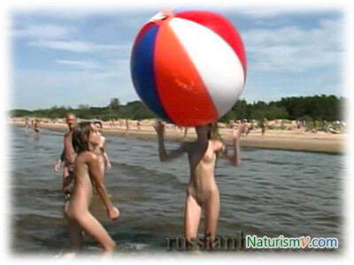 День Пляжного Мяча / Beach Ball Day (Enature.net. RussianBare.com)